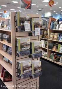 The way books should be sold, cover out (the best way to display them). I wrote this one...