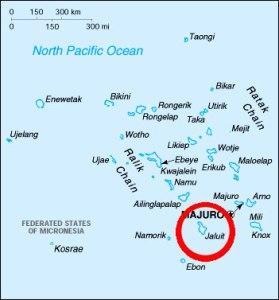 Location of Jaluit Island