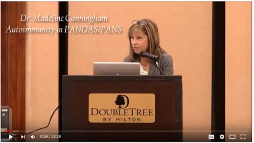 Autoimmunity in PANDAS/PANS